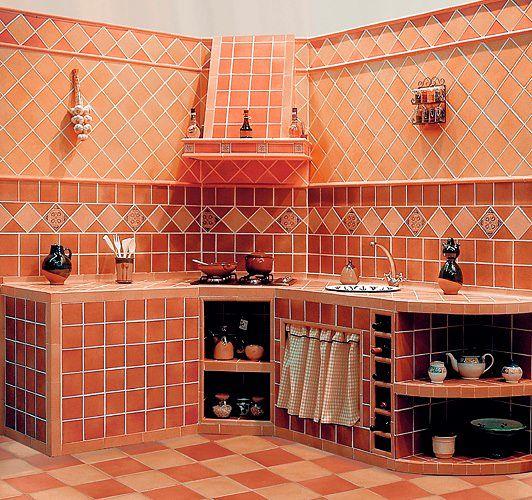 cocinas de obra rusticas fotos cocinas rusticas pequeñas integrales