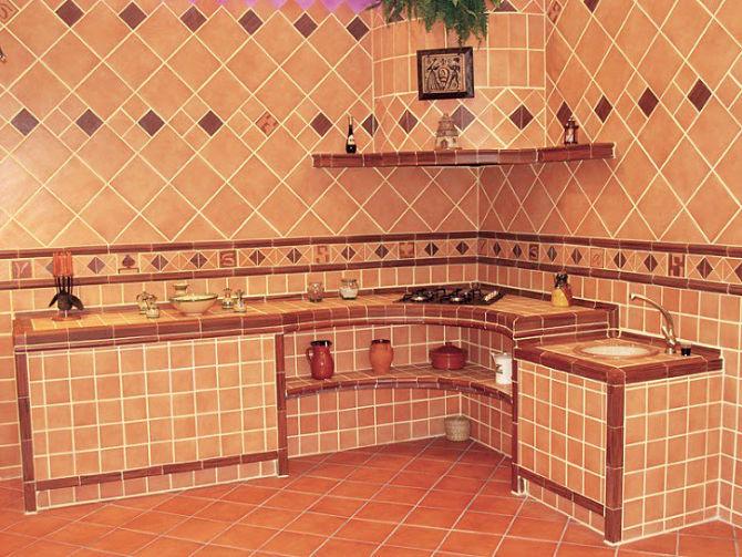 Reformas de cocinas rusticas estilo antiguo for Cocinas enchapadas