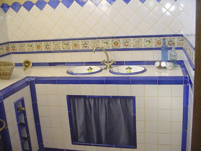 Reformas de cocinas rusticas estilo antiguo - Modelos de azulejos para cocina ...