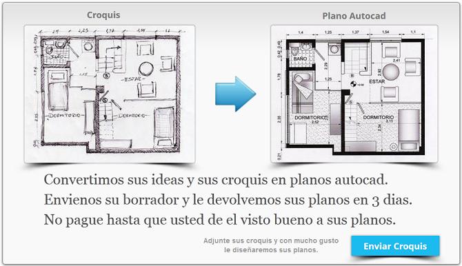 Crear planos online micro servicios de delineante incofyr for Hacer planos online