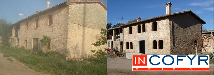 Reformar casa antigua presupuesto incofyr for Cuanto cuesta reformar una casa