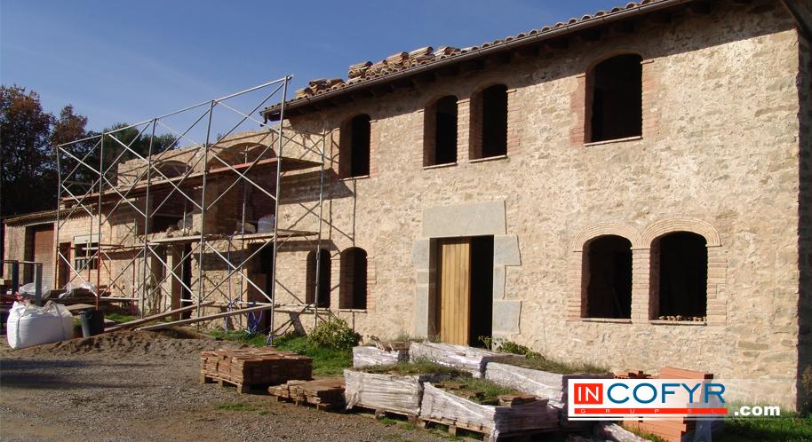 Fachadas rusticas en casas peque as - Piedra rustica para fachadas ...