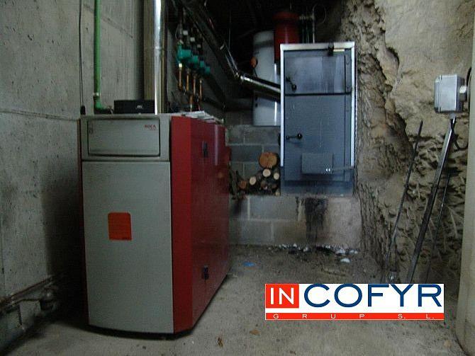 Instalación de una caldera adicional de biomasa para ahorrar en calefacción