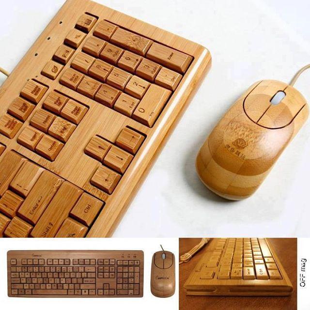 teclado rustico