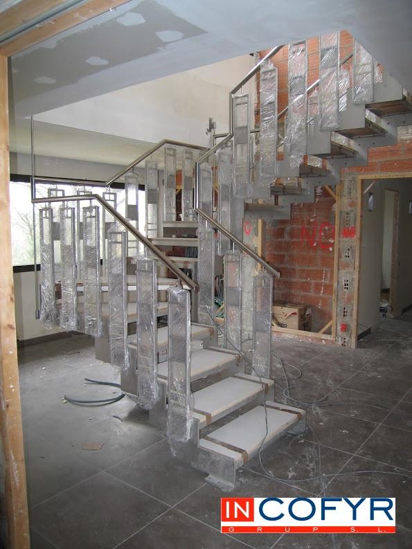 diseño de escaleras en Barcelona