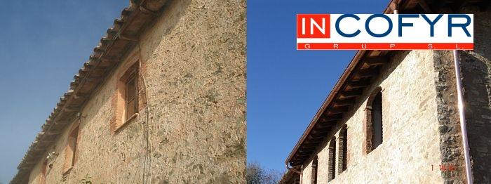 Reformar casas antiguas latest fachadas de piedra with for Cuanto vale una reforma integral