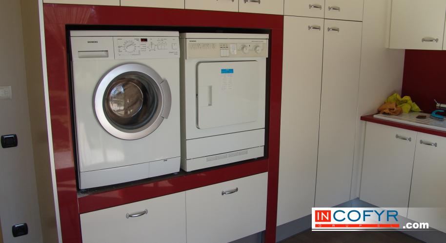 Cuarto de lavar la ropa proceso de construcci n incofyr for Lavar cortinas en lavadora