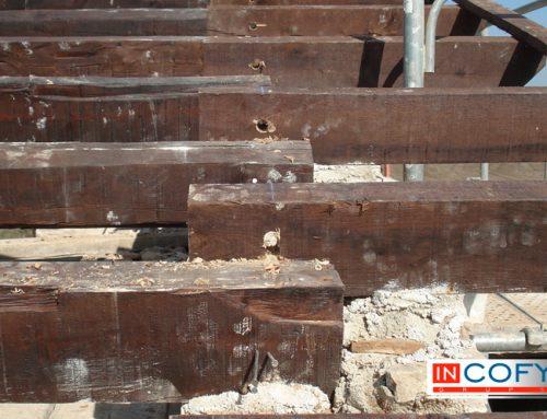 ¿Como se trata la madera vieja? – Techos de vigas antiguas