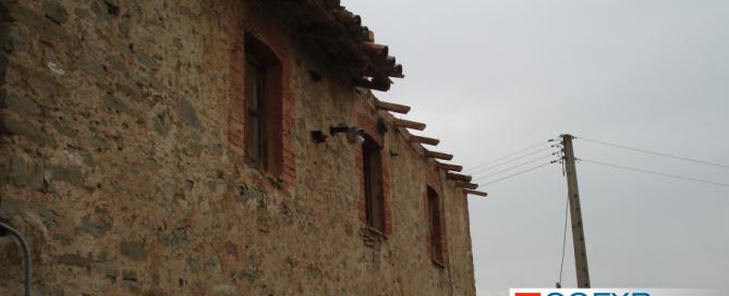 Reforma de la fachada de una casa antigua