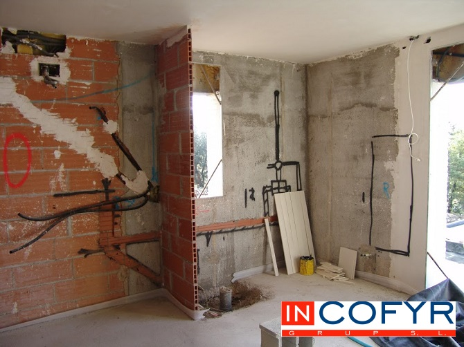 Pre instalaciones de un ba o que hay detr s de la pared - Instalacion de pladur en paredes ...